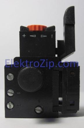 Кнопка 3,5A с регулятором оборотов для дрели Rebir (Ребир)
