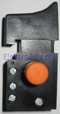 Кнопка без реверса, без регулятора оборотов для дрели Фиолент