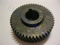 Шестерня для электропилы торцовки Stern (Штерн), мастер Powertec (Повертек); d12, D42, h12/15, z49 лево