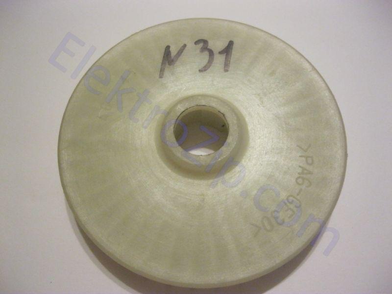 Крыльчатка 14х16, 4 шлица для якоря на болгарку