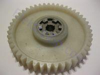 Пластиковая шестерня для электропилы (большая с железкой); прямо