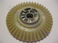 Пластиковая шестерня для электропилы Лидер, с храповиком
