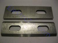 Широкие ножи (пара) для рубанка Rebir (Ребир), 82мм
