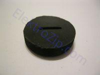 Заглушка (круглая крышка щеткодержателя); d22