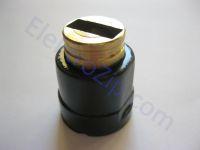 Круглый щеткодержатель для щетки 7х17, D30, d20 для пилы