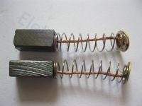Угольные щетки для дрели, болгарки; 5х6, пружина, пятак (материал А)
