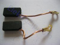 Угольные щетки для российской дрели 1035; 5х8х16, поводок, ухо (материал А)