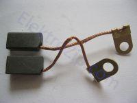 Угольные щетки для российской дрели 1035; 5х8х16, поводок, ухо (материал В)