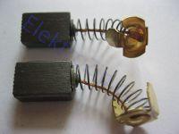 Угольные щетки для болгарки DWT (ДВТ) 150/180; 6x10, пружина, ус (материал А)