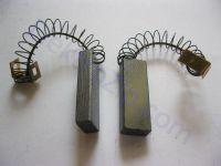 Угольные щетки для пылесоса, стиральной машинки; 6х11, пружина, скоба