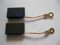 Угольные щетки для пилы, электронасоса Кама; 6х12.5х20.5, поводок, ухо (материал А)