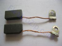 Угольные щетки для пилы Rebir (Ребир); 6.3х10, поводок, ухо (материал А)