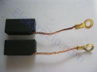 Угольные щетки для болгарки, пилы, электронасоса Кама; 8х10х20, поводок, ухо (материал В)