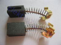 Угольные щетки для болгарки; 6х10, пружинка, 2 прорези, зажим (материал А)