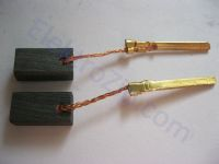 Угольные щетки для болгарки Bosch (Бош) 6-115; 5х8, поводок, разъем, длинная клемма (материал В)