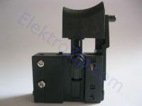 Кнопка с тонким фиксатором для сетевого шуруповерта