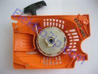Крышка стартера с плавным пуском, на 4 зацепа для бензопилы KraftTech (Крафт теч)