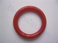 Красное резиновое кольцо 22x16х3 для поршня d22