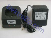 Трехчасовое, двухконтактное зарядное устройство 12V для шуруповерта