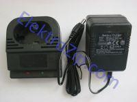 Трехчасовое, двухконтактное зарядное устройство 18V для шуруповерта