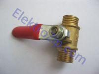 Шариковый клапан для компрессора, резьба наружная-резьба наружная