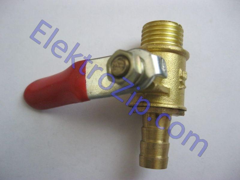 Шариковый клапан для компрессора, резьба наружная-штуцер