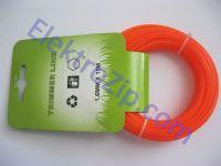 Леска d1.6, 15м, оранжевая (для триммера)