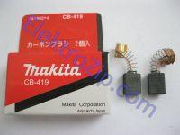 Угольные щетки для перфоратора Makita (Макита) 419A; 6х9, пружина, зажим