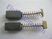 Угольные щетки для дрели, болгарки; 5х6, пружина, ус (материал А)