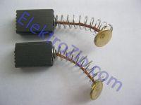 Угольные щетки для дрели, болгарки Stern (Штерн); 5х8х12, средний пятак, пружина (материал А)