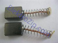 Угольные щетки для дрели, болгарки Stern (Штерн); 5х8х10, малый пятак, пружина (материал А)