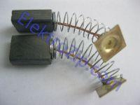 Угольные щетки для дрели, болгарки Интерскол; 5х11х15, пружина, квадрат (материал А)