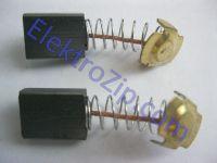 Угольные щетки для дрели, болгарки Интерскол; 5х11Х14.5, пружина, ус (материал А)
