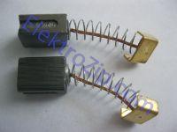 Угольные щетки для дрели, болгарки, перфоратора; 6х9, пружина, 2 прорези, скоба (материал А)