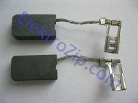 Угольные щетки для болгарки; 5х10, поводок, разъем флажек (материал А)