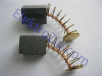 Угольные щетки для болгарки, дрели; 6х6, пружина, 2 прорези, пятак (материал А)