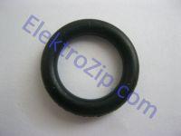 Черное резиновое кольцо 24x18х3 для поршня d25