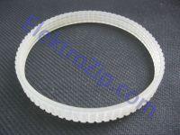 Силиконовый, ручейковый ремень, длина по внешнему диаметру 295, R-4