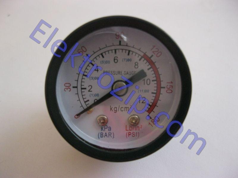 Малый, металлический манометр для компрессора СОЮЗ ВКС 9315/93155 Y40