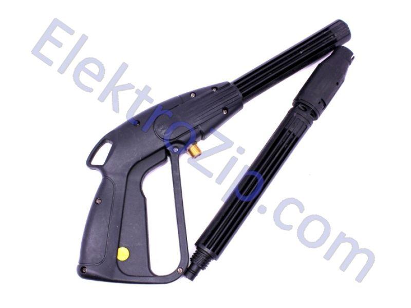 Пластиковый пистолет на резьбе, распыление веером (для мойки)