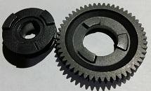Ремкомплект на перфоратор бочковой SDS MAX; муфта сцепления+шестерня тарелка