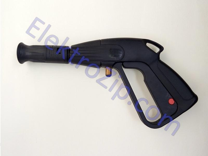 Малый, пластиковый пистолет с распылением веером (для мойки)