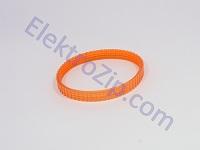 Силиконовый, ручейковый ремень, длина по внешнему диаметру 245, R-3