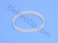 Силиконовый, ручейковый ремень, длина по внешнему диаметру 295, R-5