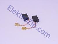 Угольные щетки для болгарки Фиолент 230; 6х12.5, поводок, разъем (материал В)