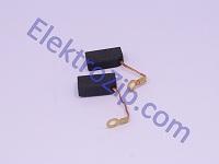 Угольные щетки для болгарки, перфоратора; 6.3х12х20, поводок, ухо (материал В)