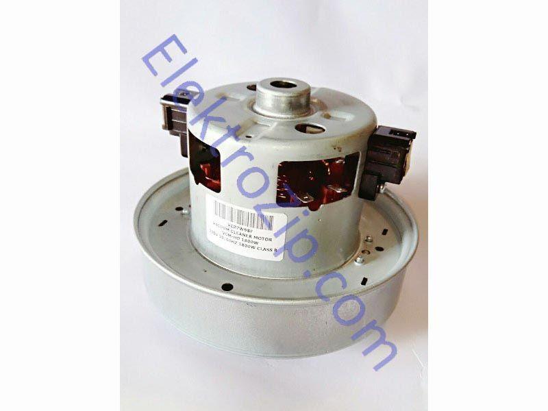 Двигатель универсальный VCM-HD 1800W. Мощность 1800W. Мотор h112, турбина D135, h35, расстояние крепления под отверстия (по центрам) 44