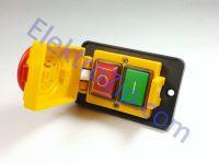 Магнитная кнопка с колпаком для промышленного станка; 4 контакта