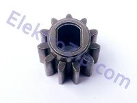 Ответная шестерня для пилы к металлической шестерни с отверстиями; D13, d10, h12, z11, прямо, под 2 лыски